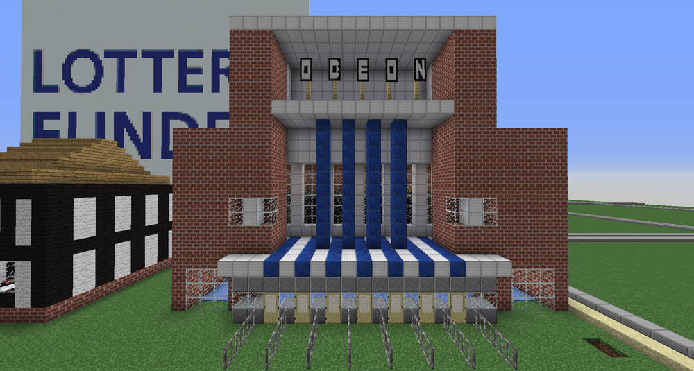 MINECRAFT HERITAGE: WORCESTER ODEON BY CARTER HILL
