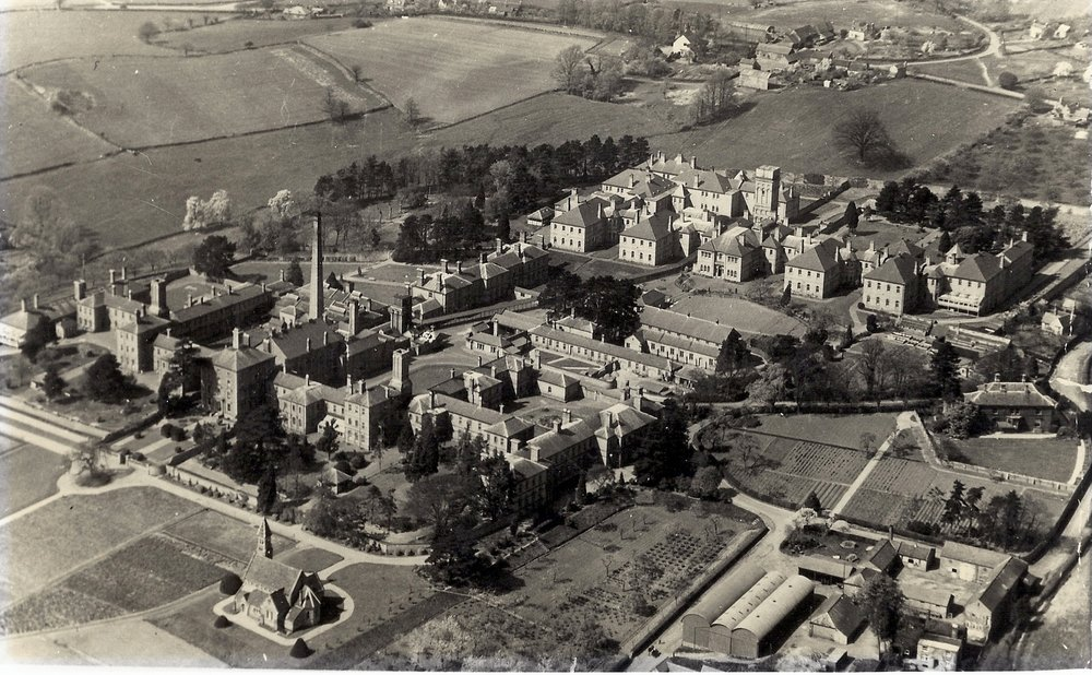 Powick Hospital, c1930s Image copyright Charles Hastings Education Centre.