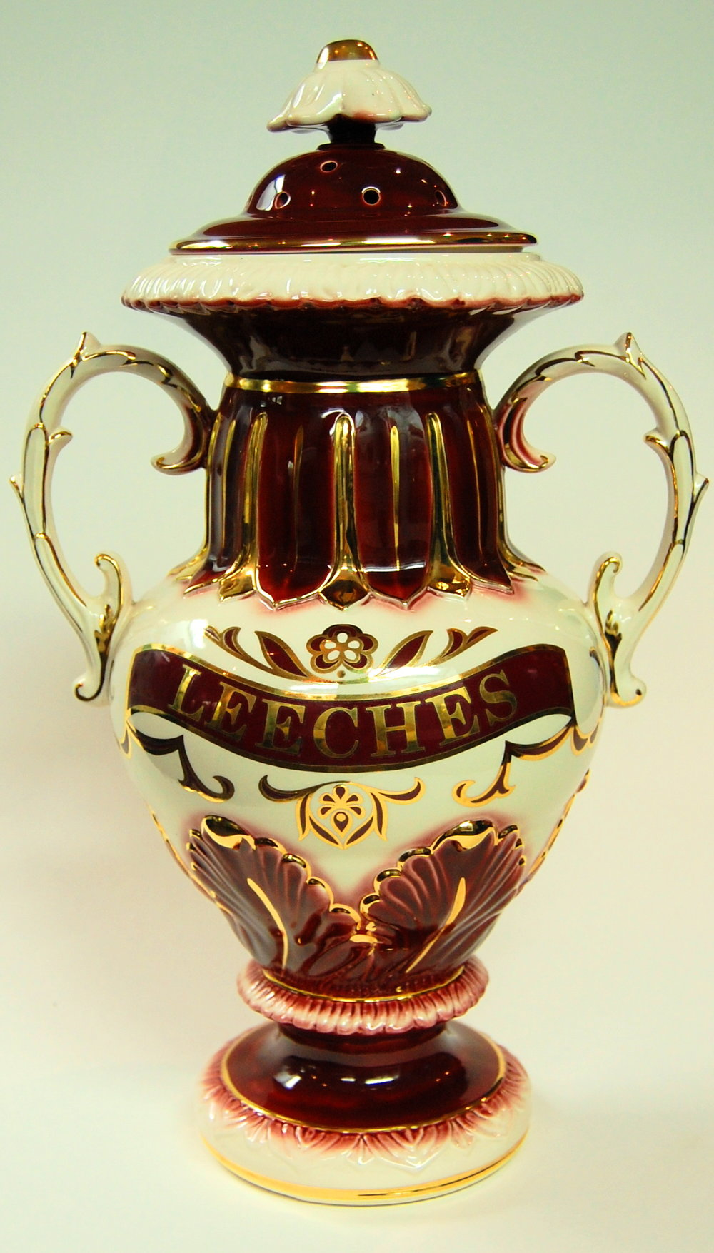 18th Century Leech Jar