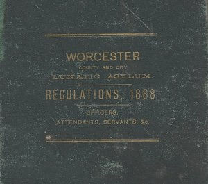 1888 Regulations Book