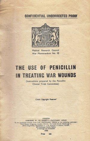 Penicillin Pamphlet, 1944