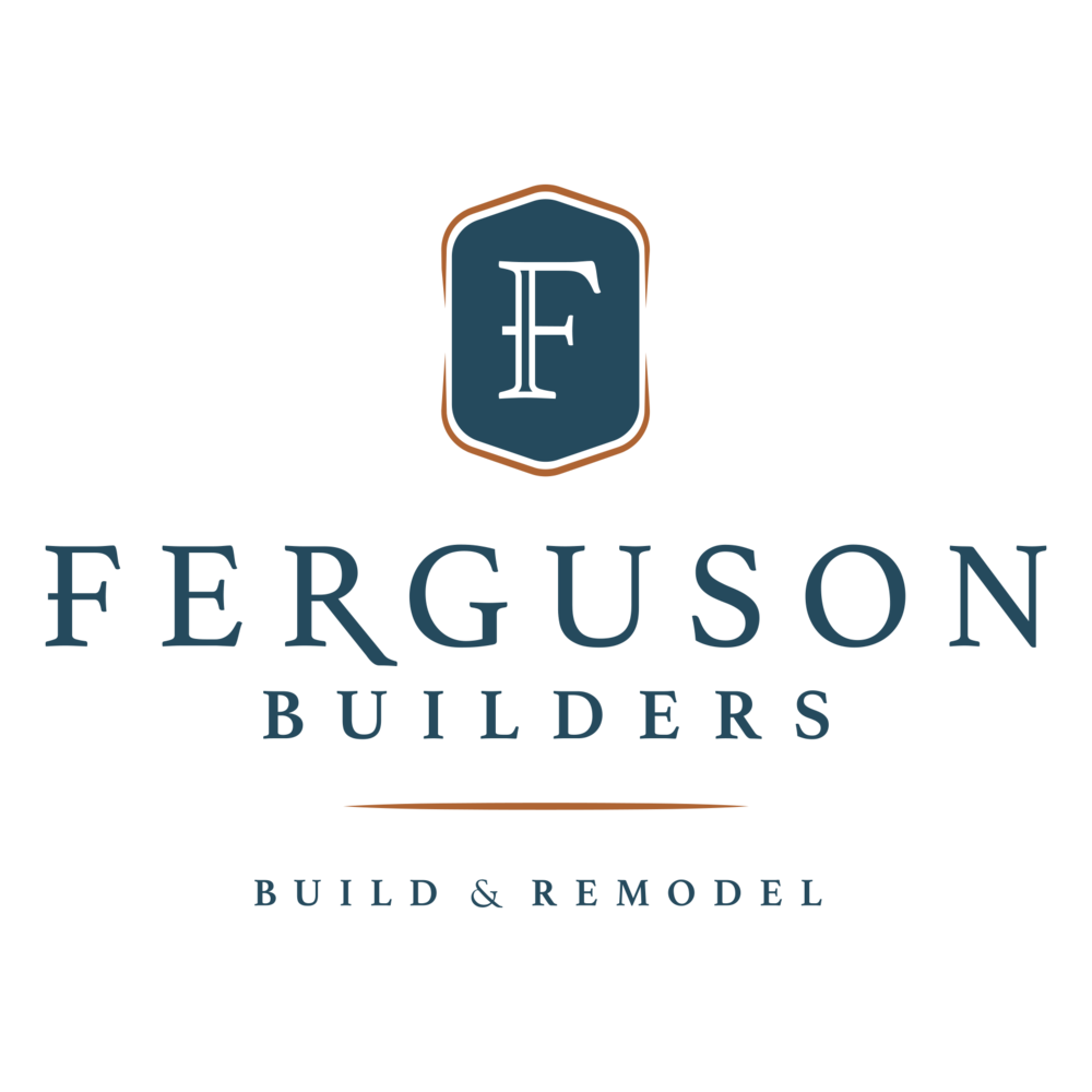 Ferguson Builders logo and tagline