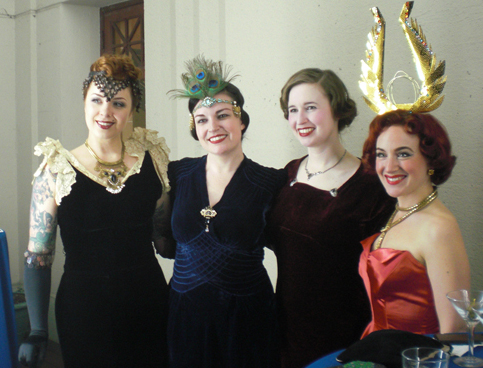 Some very pretty Art Deco Ladies