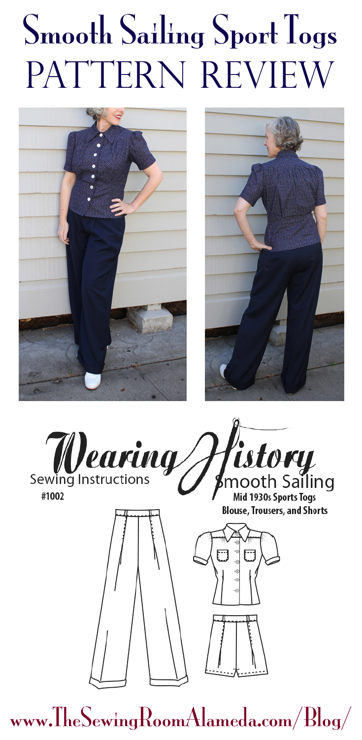 The Sewing Room Blog - Smooth Sailing Sports Togs- A Pattern Review