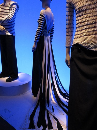 image from the Gaultier exhibit at the De Young Museum