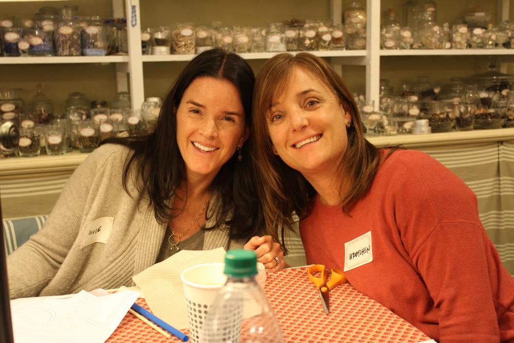 Julie (Left & Gretchen (right)
