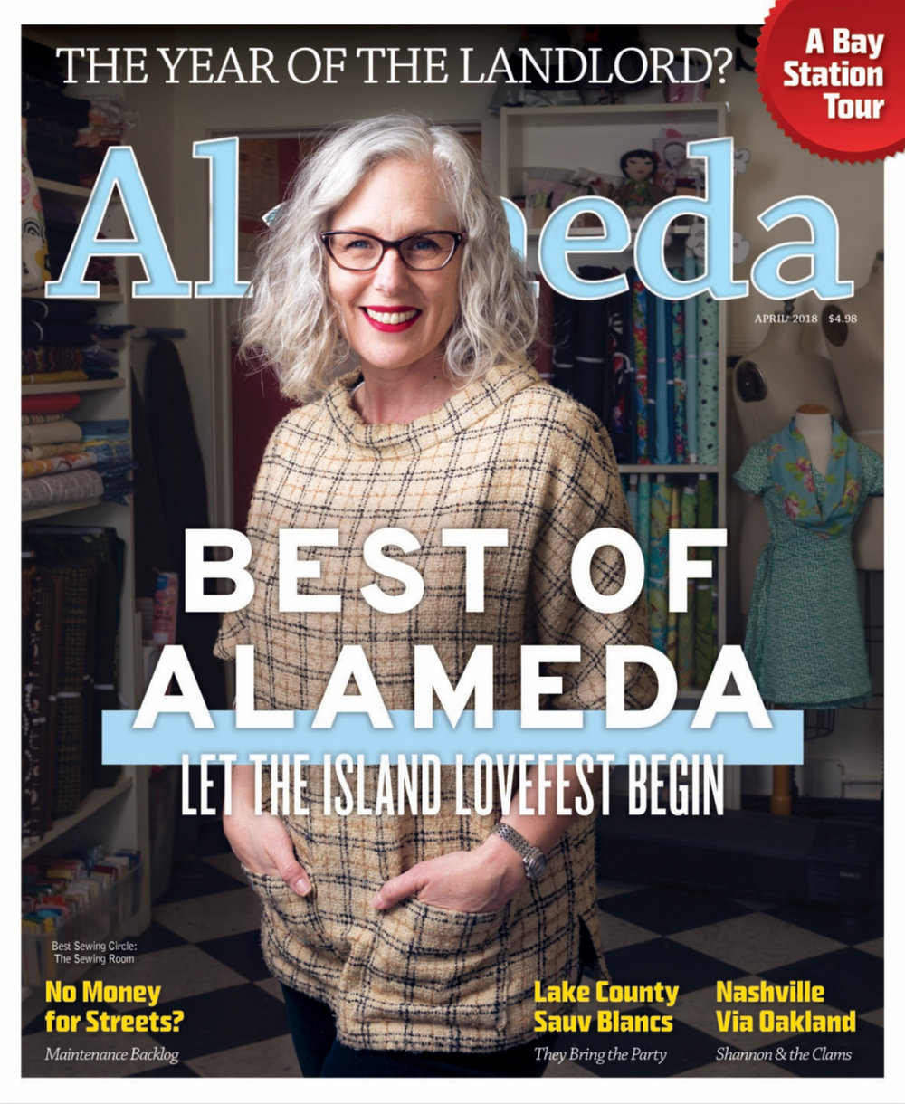 Voted Best Sewing Circle 2018 in Alameda Magazine
