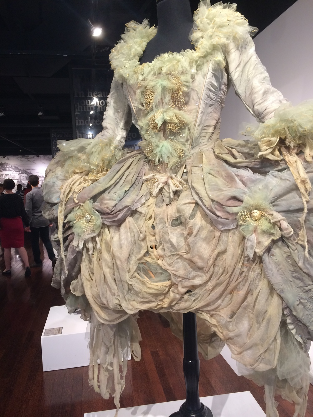This was Moth the fairy's costume in a 1985 production of  A Midsummer Night's Dream -  photos from the play looked like Marie Antoinette on acid