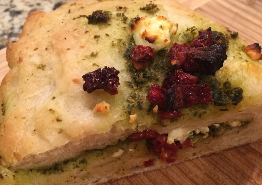 Sun Dried Tomato + Pesto | $7.00