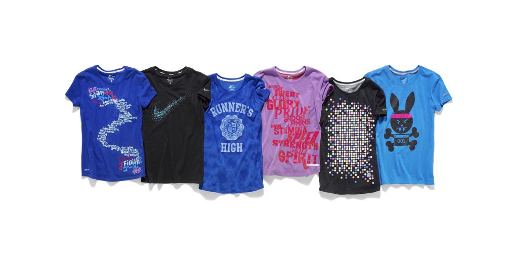 7c9ded10 Nike Running Tees — Kristen Shenk | Creative Direction + Design