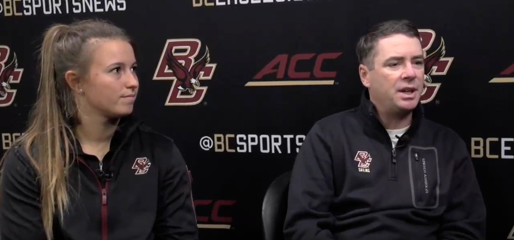 A Sit Down With Erika Reineke and Coach Greg Wilkinson - Published by Boston College Athletics | December 30, 2014