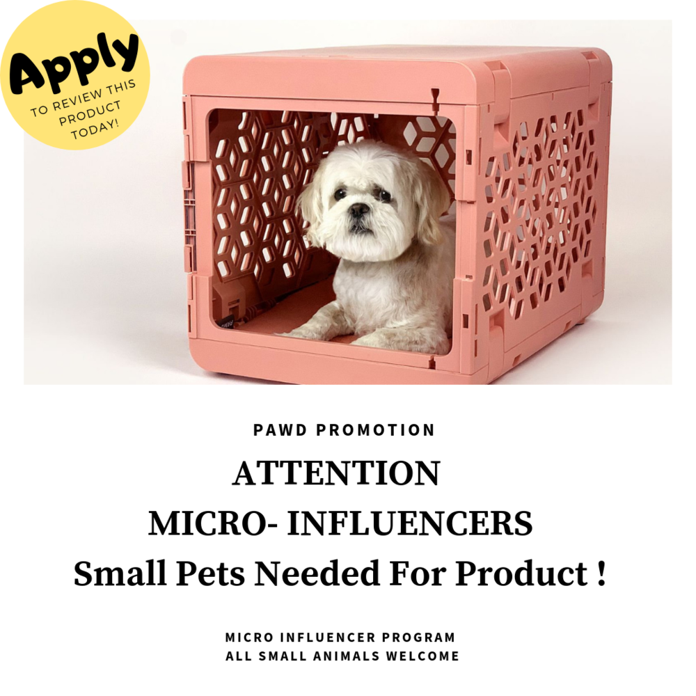 PAWD - A $99 value, meant for small animals ( any animal type welcome). Leave in notes if you want a Grey, White or Pink Pawd.