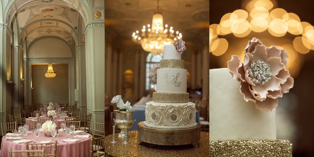 biltmore atlanta hotel cake decor style reception