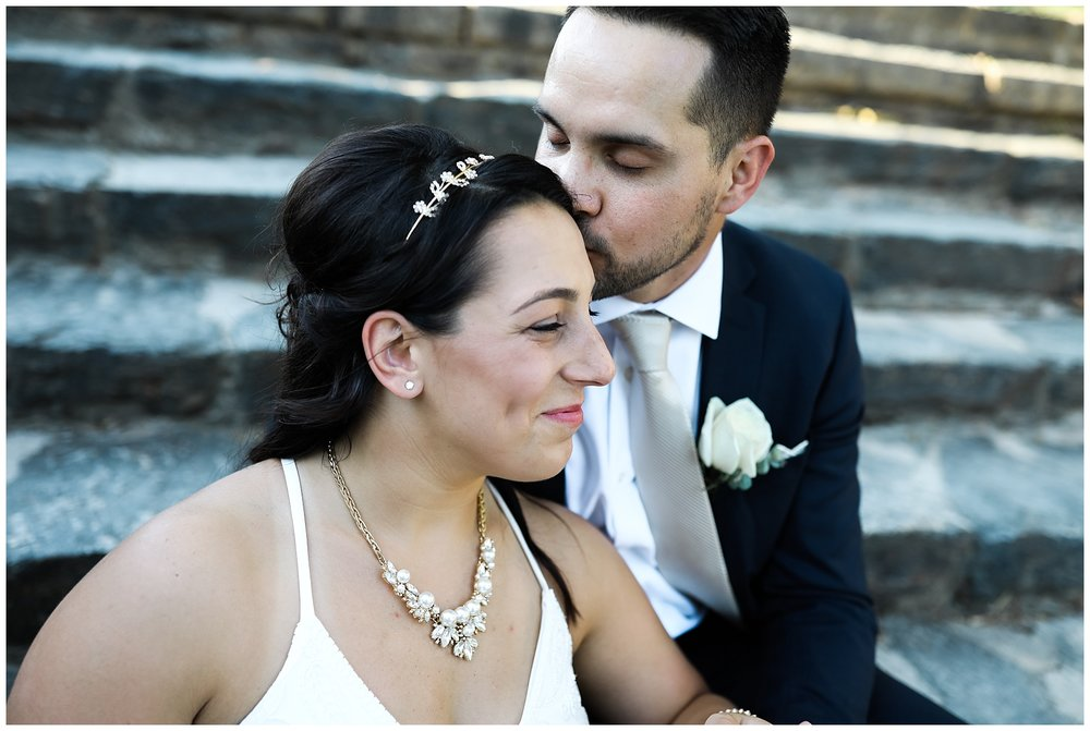 kiss intimate wedding elope atlanta midtown piedmont peachtree married