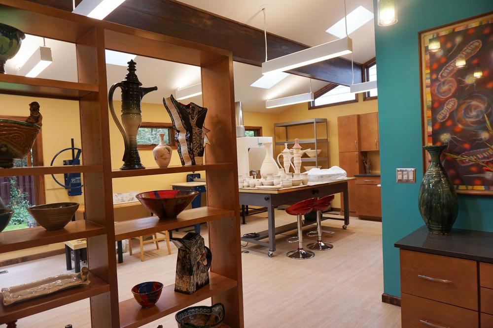 Barefield ClayWorks studio.