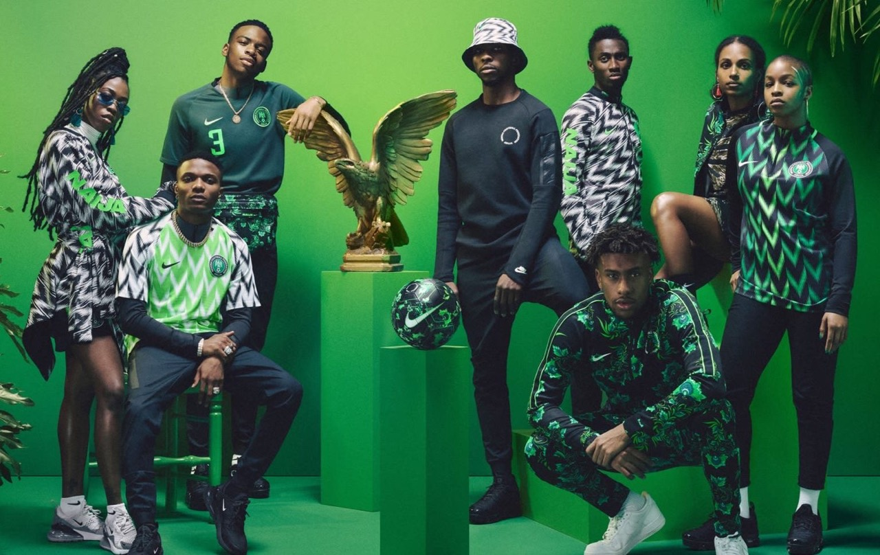 new product db138 66c19 Naija Collection: The Nigeria Football Kit That is Wowing ...