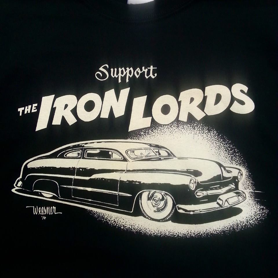 IRON LORDS TEE SHIRTS