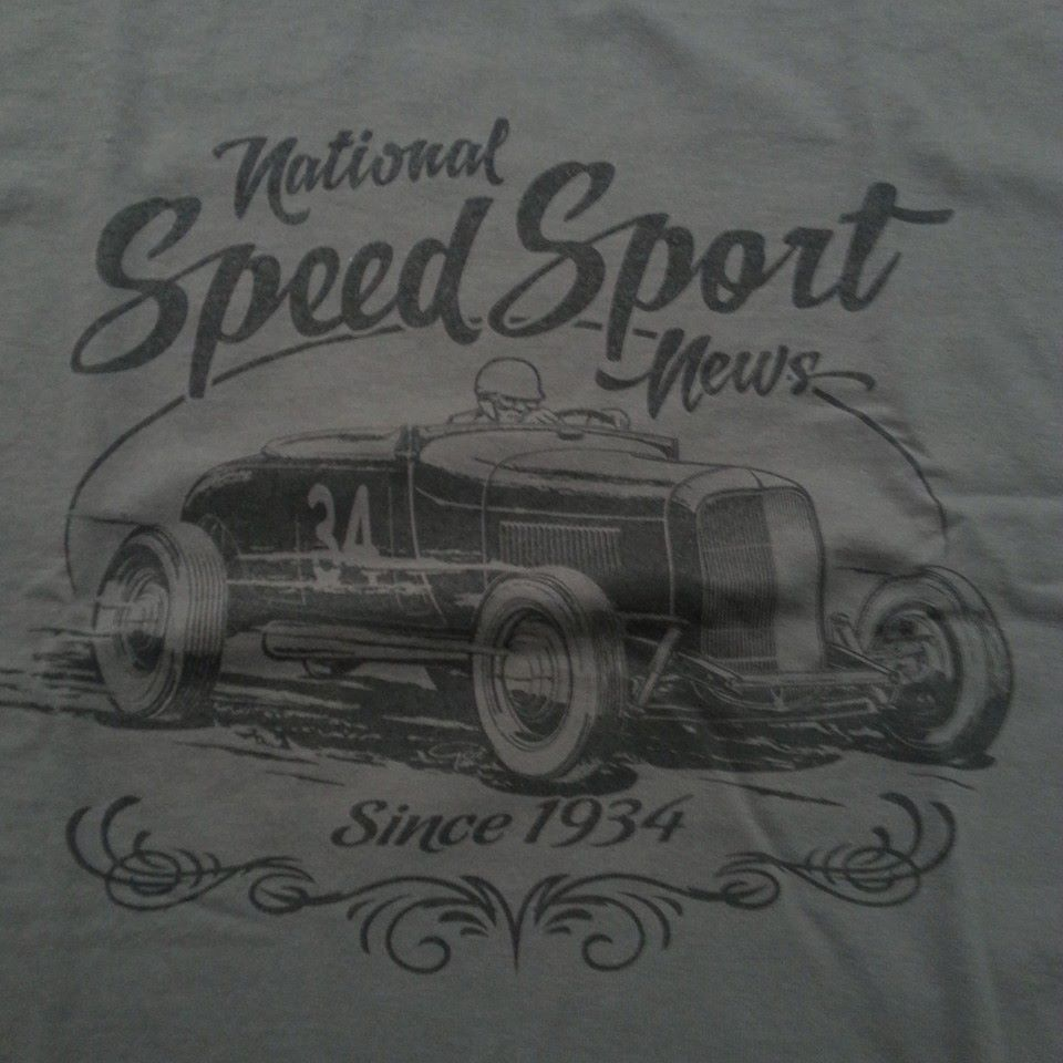 SPEED SPORT SINCE 1934 VINTAGE TEE