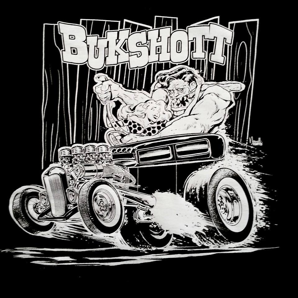 BUKSHOTT TEE SHIRTS