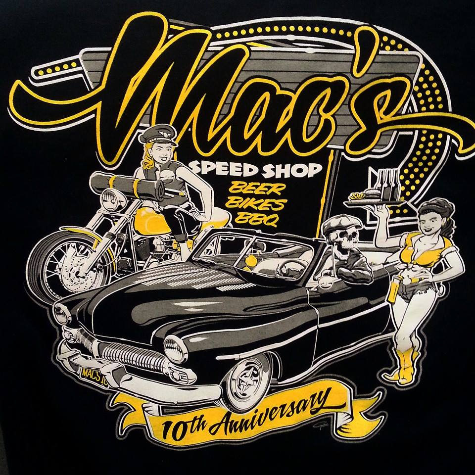 MACS TENTH ANNIVERSARY TEES