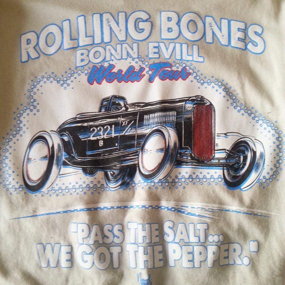 ROLLING BONES BONN EVIL!