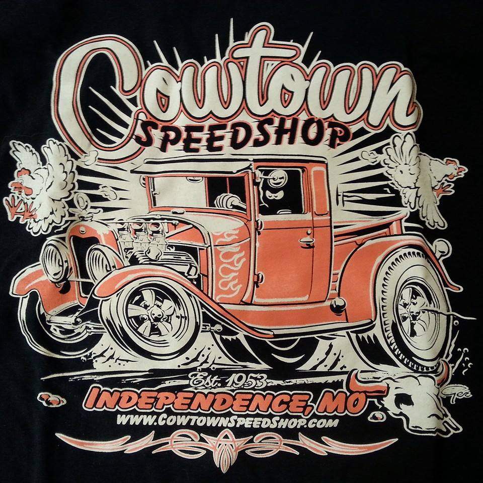 COWTOWN SPEED SHOP PICKUP TEE