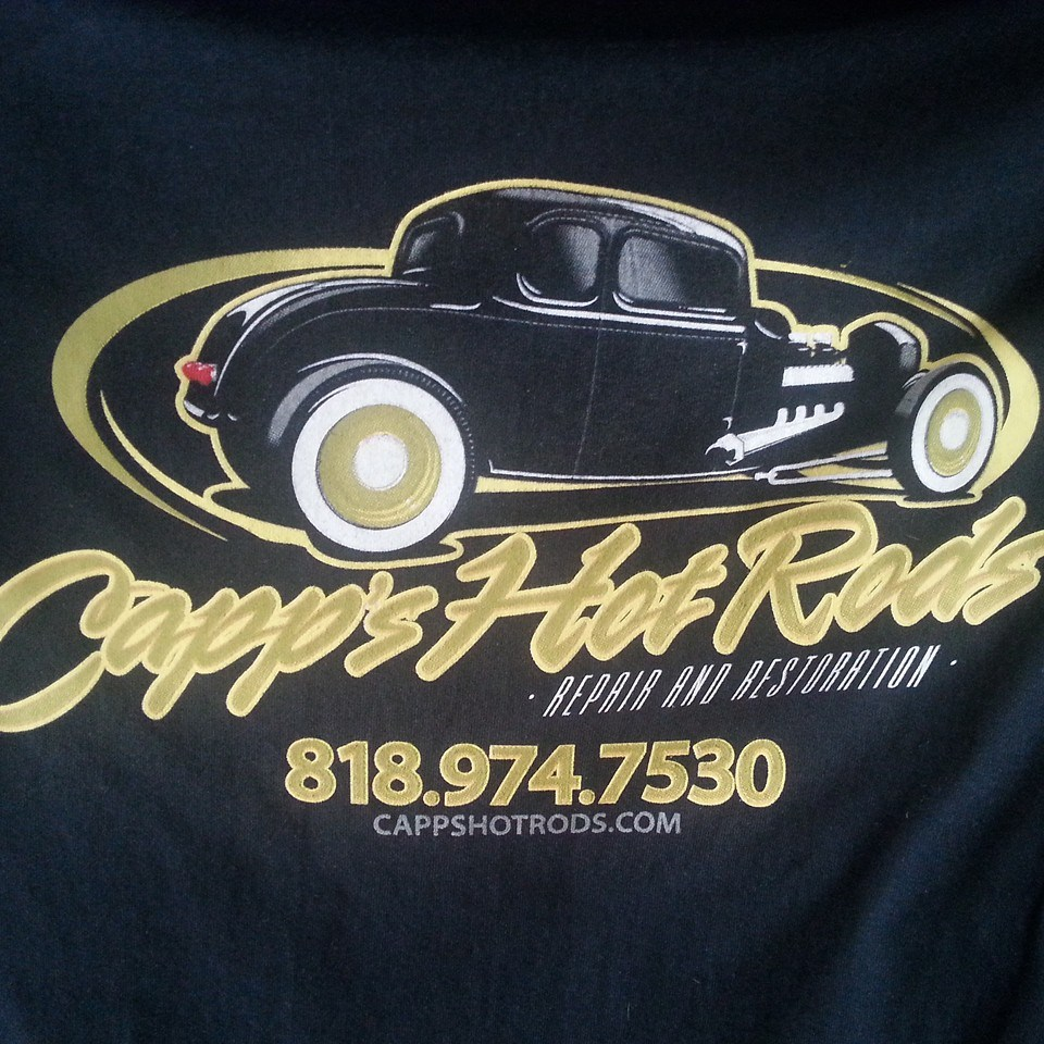 CAPPS HOT RODS TEE SHIRT