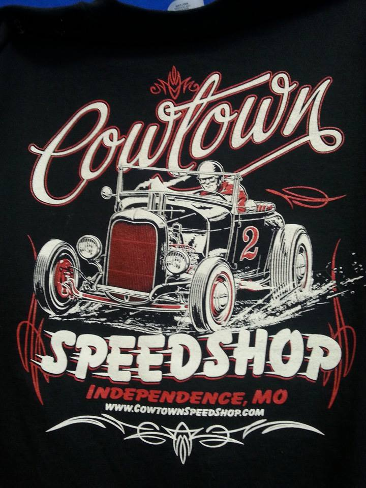 COWTOWN SPEED SHOP ROADSTER TEE