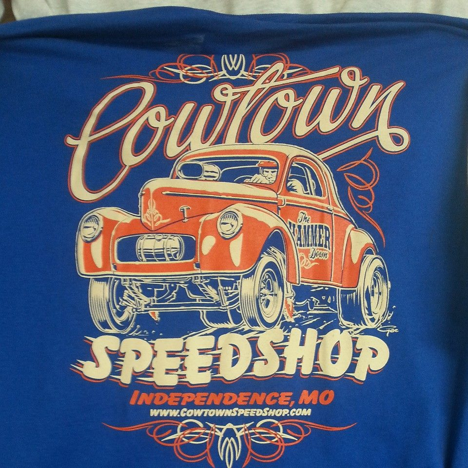 COWTOWN WILLYS TEE