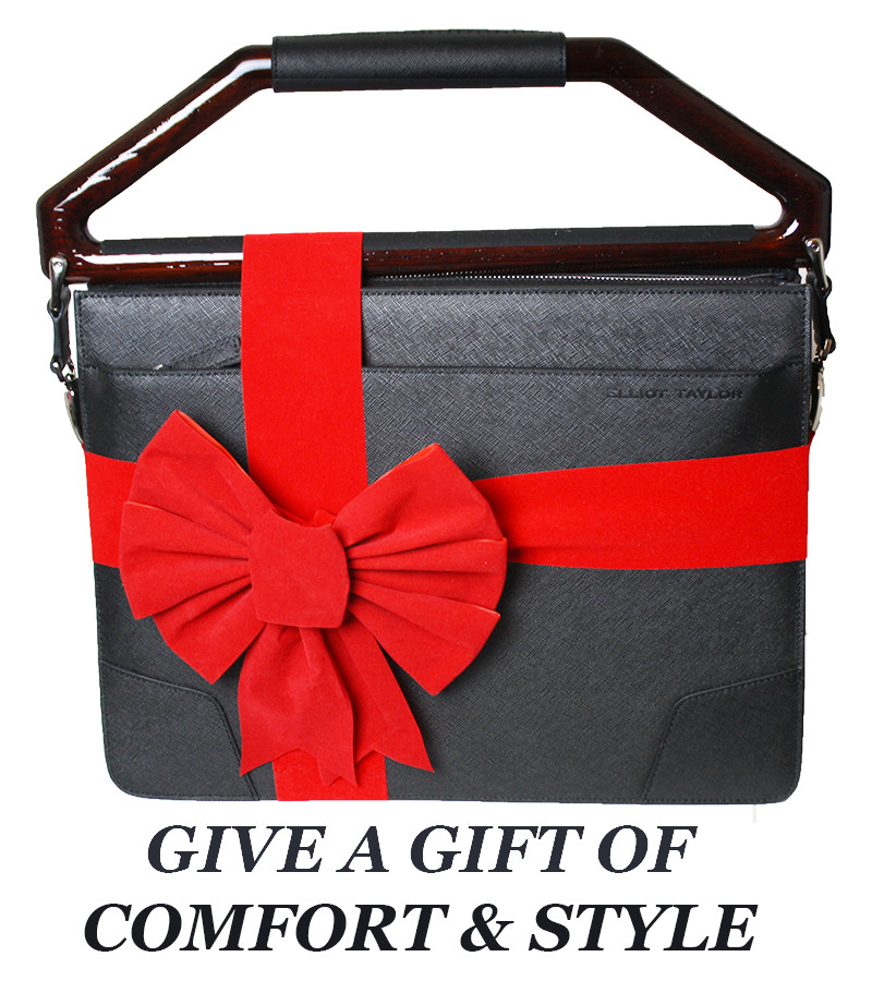 Elliot Taylor NY - Give our beautiful and innovative high quality leather briefcase for a unique gift.