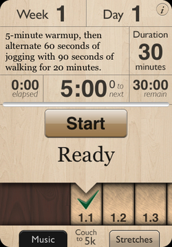 laughingsquid: Couch to 5K iPhone App Helps You Work Out and Get Into Shape