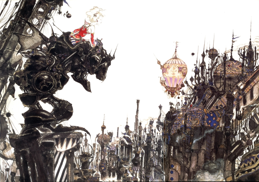 Final Fantasy VI box artwork (1994)