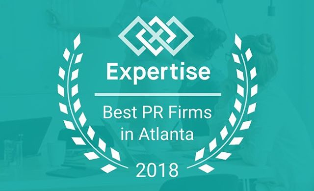 We are honored to share that Elle PR has been named to Expertise's Best PR Firms in Atlanta list for 2018!! This is our 2nd year to be included on the prestigious list and we're thrilled to be in such great company! 150+ local agencies were included in the analysis with 21 making the list. Selection criteria included reputation, credibility, experience, availability, and professionalism. ✨🙏🏽 #mondaymotivation