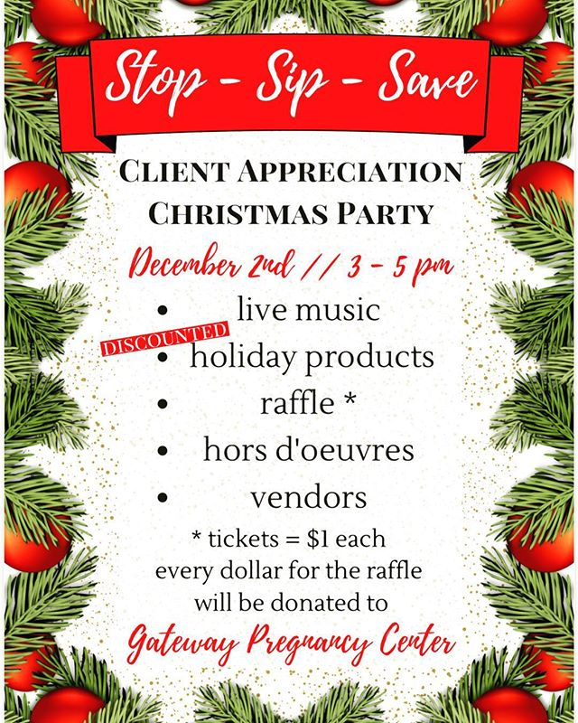 Save the date! December 2nd from 3-5 there will be a drop in party @bellabellohair! We would love to have you! Drop in and say hi, dance to some fun music, and give a dollar to a great cause! We would ❤️ to see you all! #bellabellohair