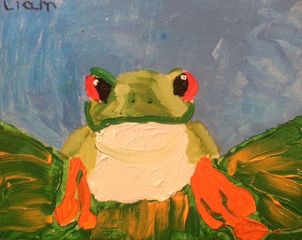 acrylic~ age 7