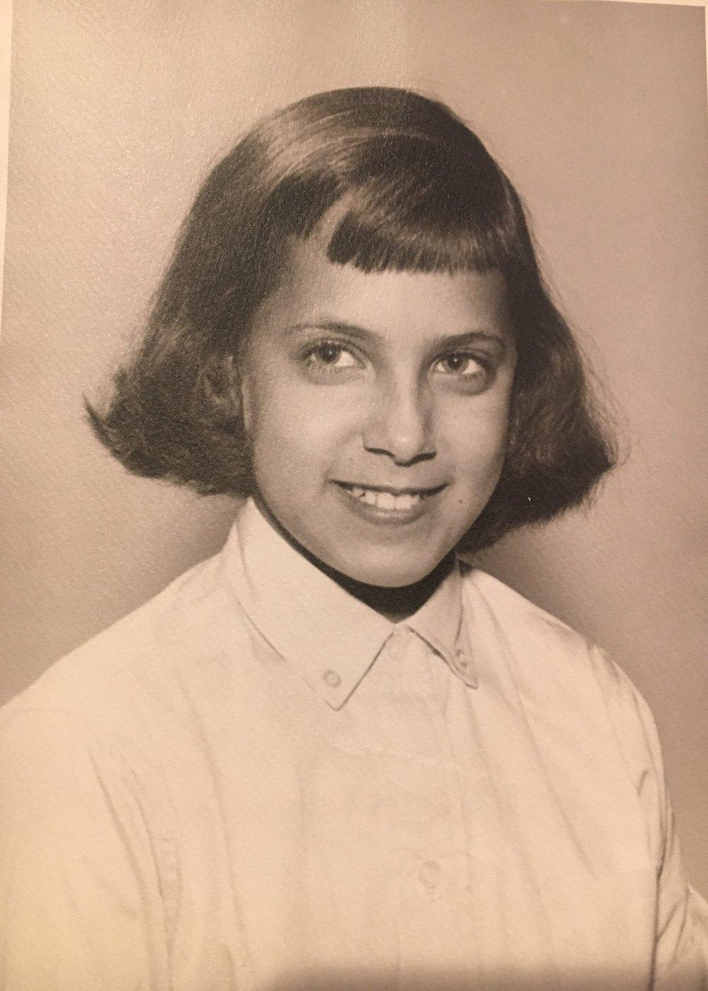 Linda portrait, age 10