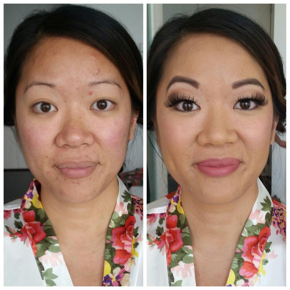 Maximum Glamour Airbrush Bridal Makeup with Mink Lashes Luminous Beauty Makeup Artist Minneapolis.jpg