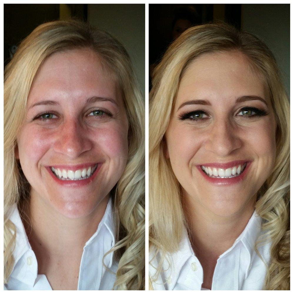 Traditional Bridal Makeup with Airbrush and Mink Lahses Luminous Beauty Makeup Artist Minneappolis Minnesota.jpg