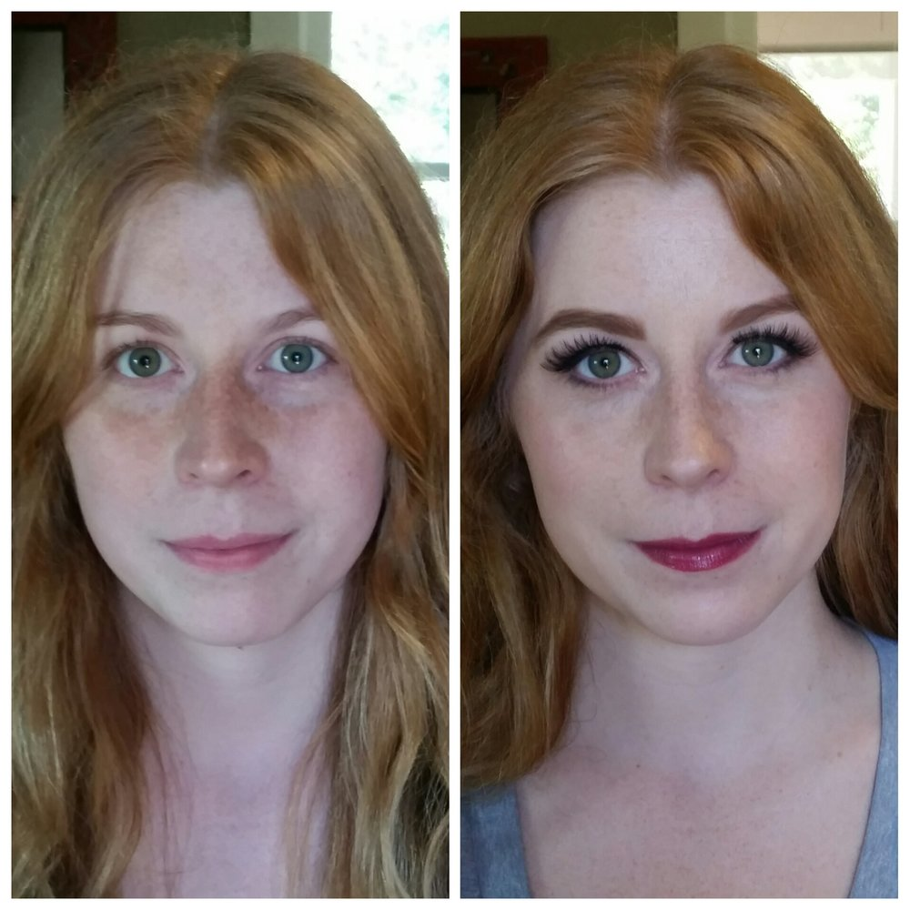 Natural Makeup Application That Shows Off Freckles by Professional Makeup Artist Blaine.jpg
