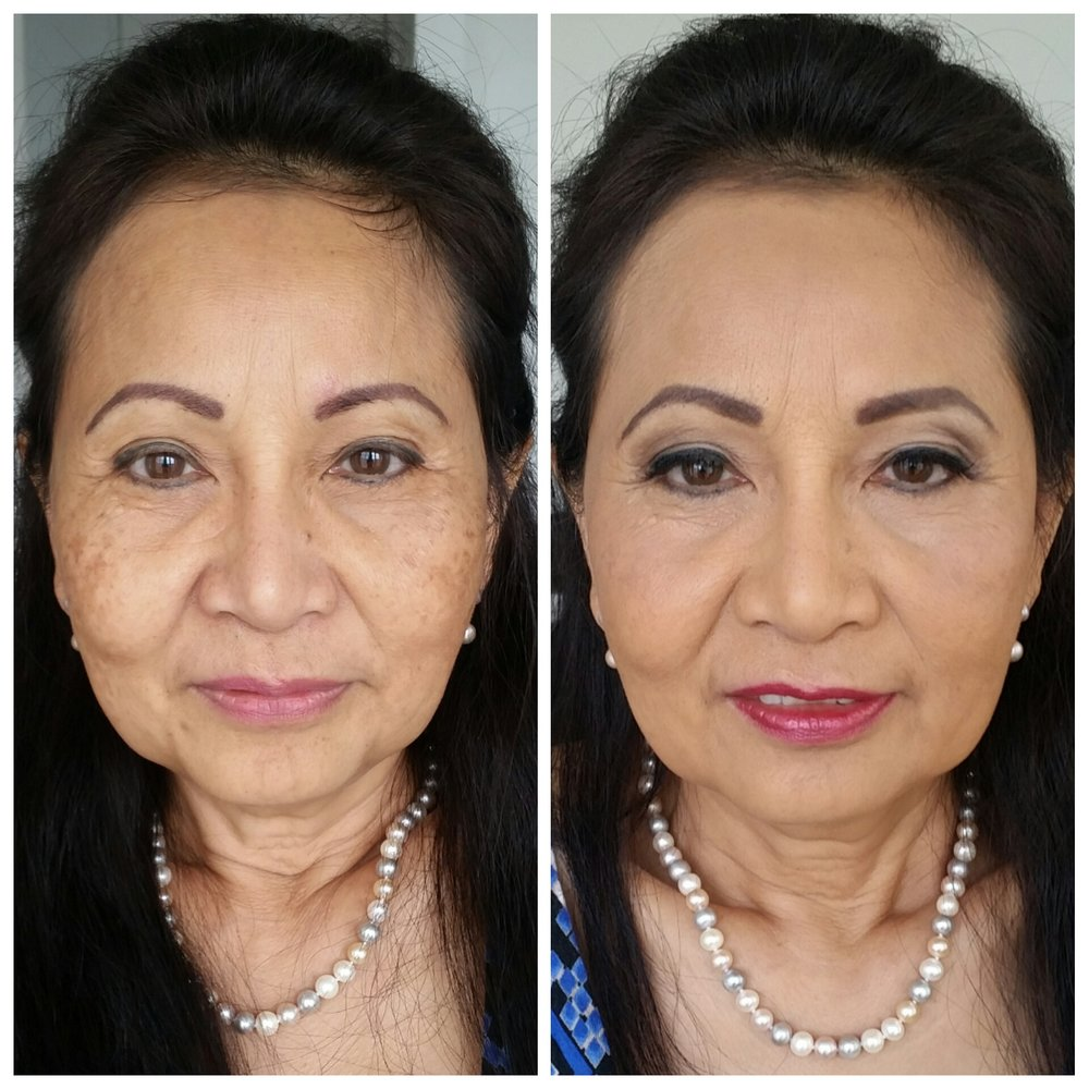 Elegant Mother of the Bride Makeup with Airbrush and Lashes Makeup Artist Minneapolis Minnesota.jpg
