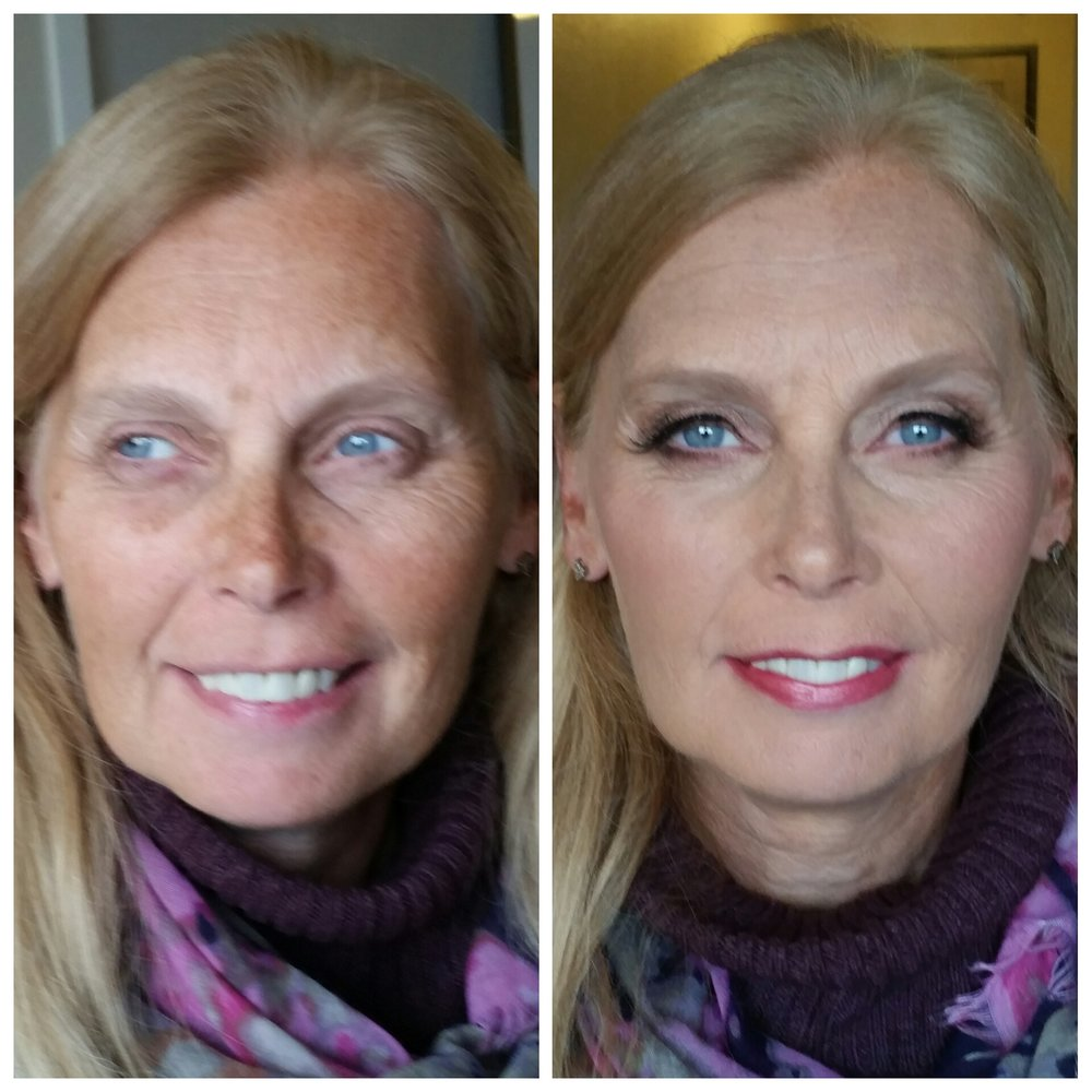 Stunning Mother of the Bride Makeup with Airbrush and Lashes Makeup Artist Minnetonka.jpg