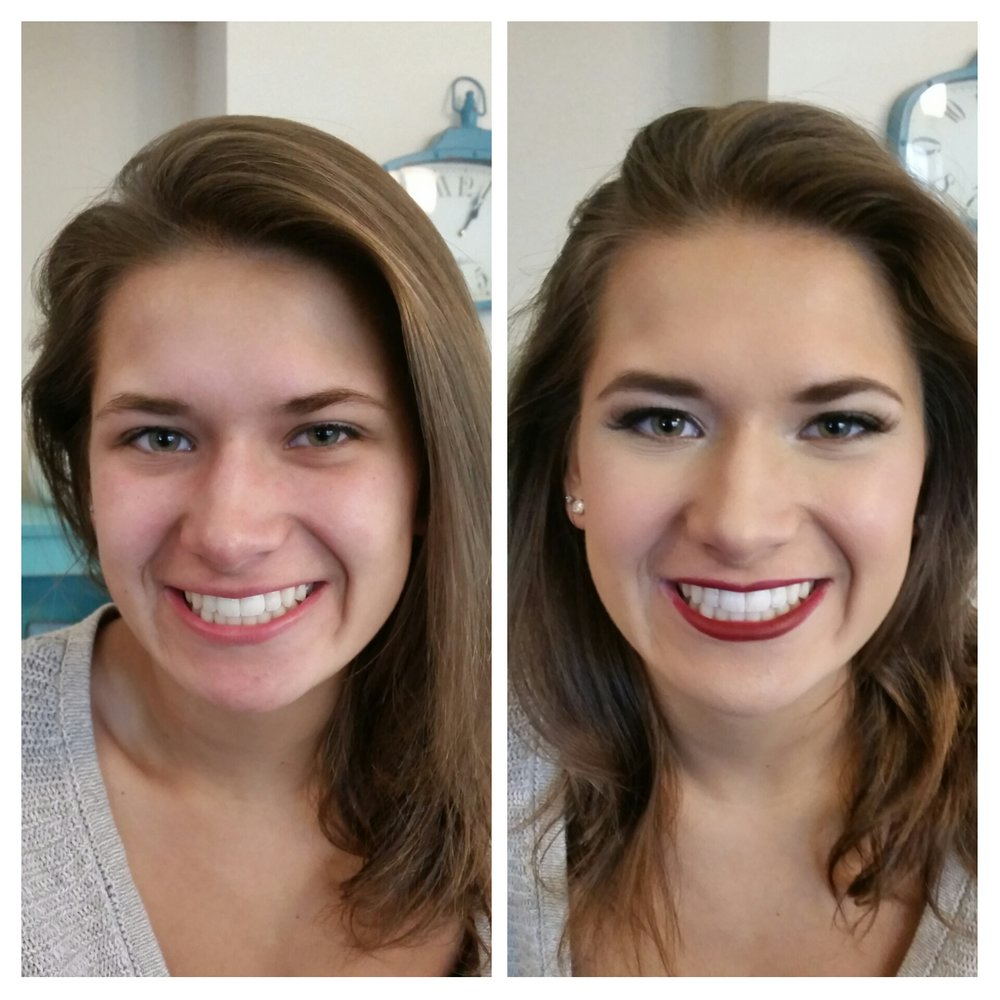 Understated Homecoming Makeup with Bold Lip by Luminous Beauty Makeup Artist.jpg
