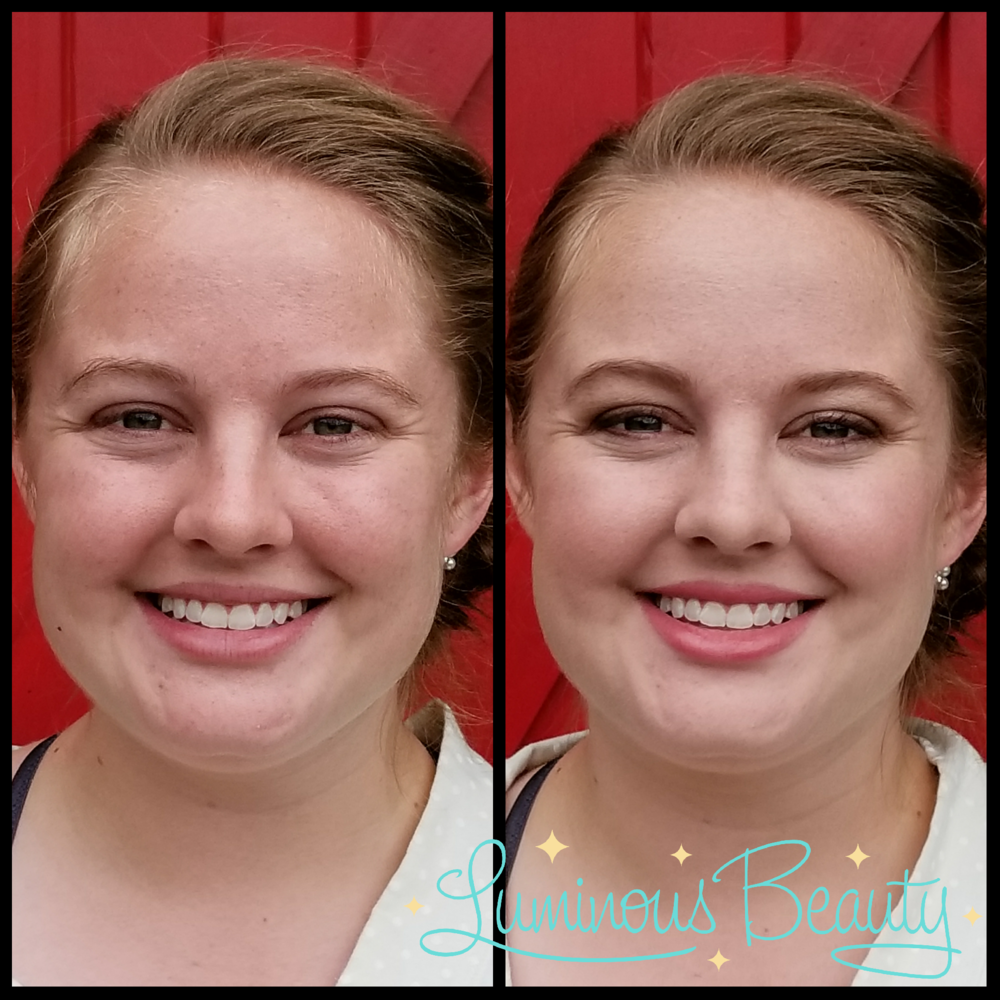 Ultra Natural Outdoor Bridal Makeup in Plymouth Luminous Beauty Makeup Artist Betsey.png