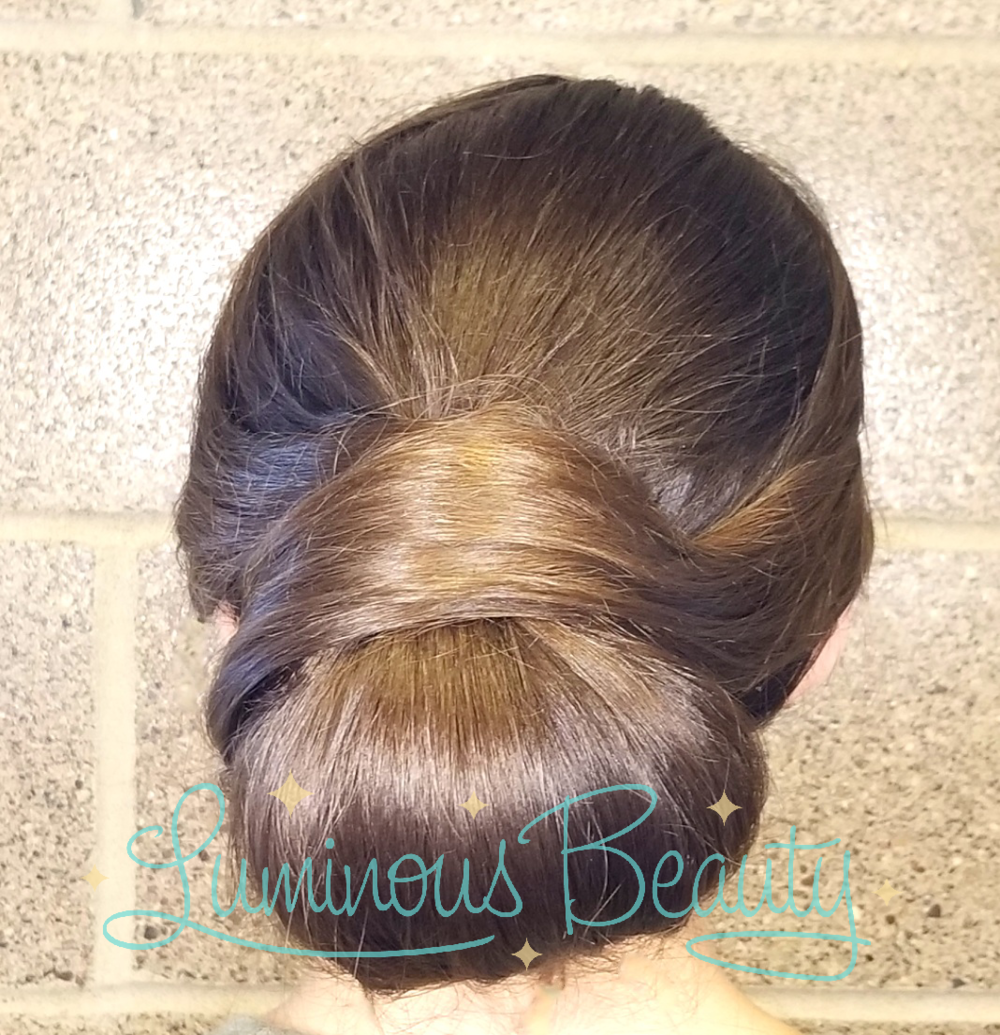 Smooth Updo MN Wedding Hair. Luminous Beauty Stylist..png