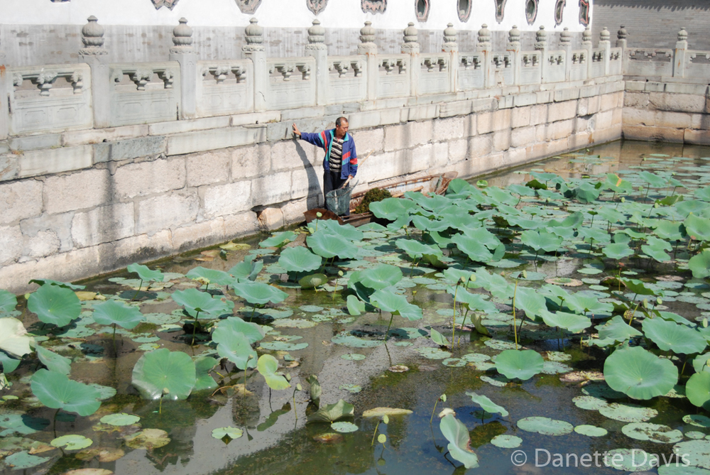 Summer Palace Pond Cleaner, Beijing,  China