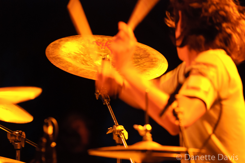 Kito Hayato, New Pants,  2015    I'm posting this pic because I like its ghost like quality and Kito's drumming energy.