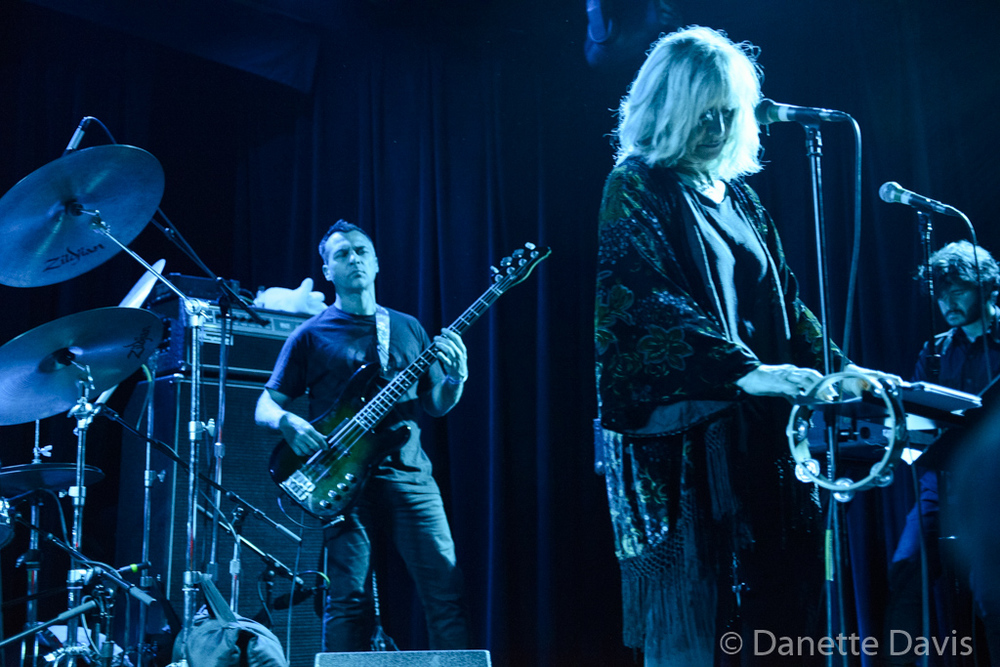 L-R: Philippe Bussonnet, Stella Vander, and Jérémie Ternoy, Magma,  2016 , at The Crocodile