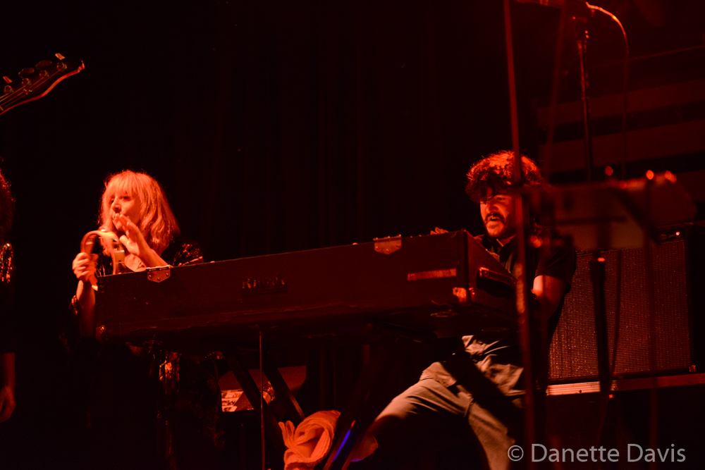 L-R: Stella Vander and Jérémie Ternoy, Magma,  2016 , at The Crocodile