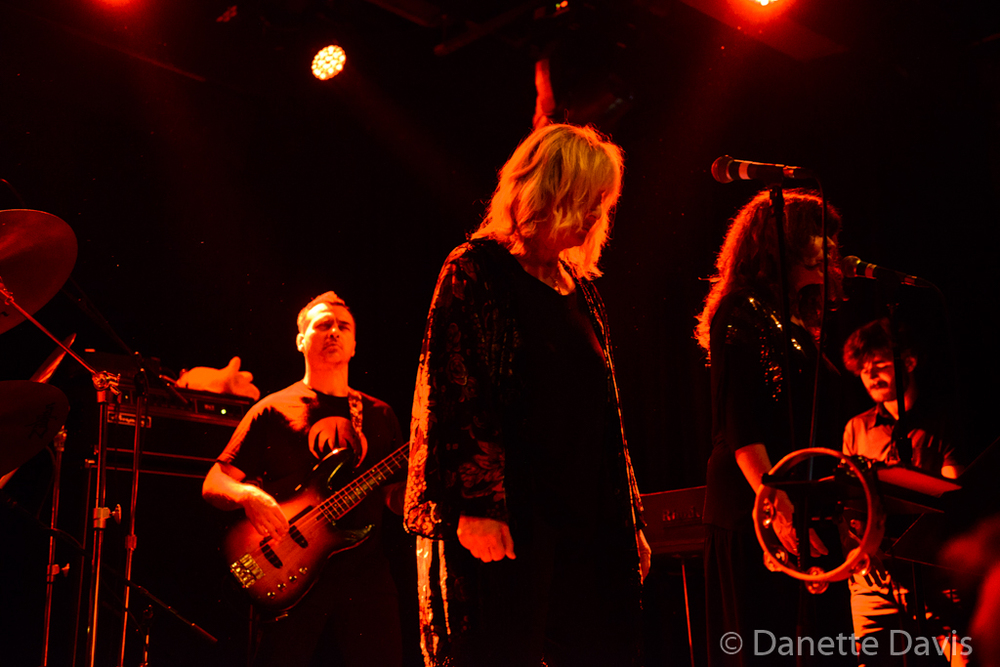 L-R: Philippe Bussonnet , Stella Vander, Isabelle Feuillebois, and Jérémie Ternoy, Magma,  2016 , at The Crocodile