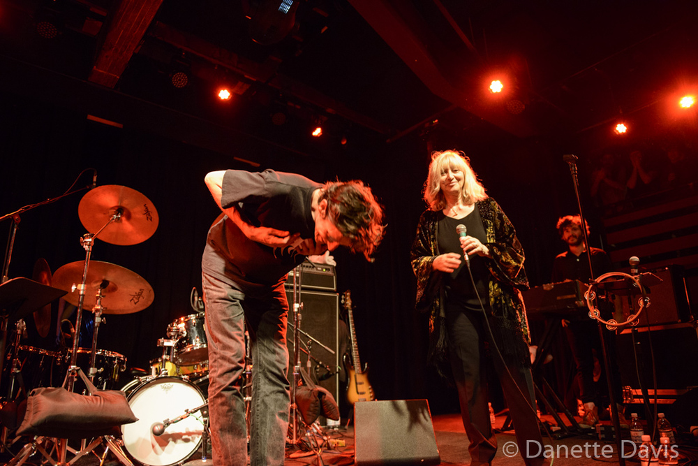 L-R: Jim Grandcamp, Stella Vander and Jérémie Ternoy, Magma,  2016 , at The Crocodile